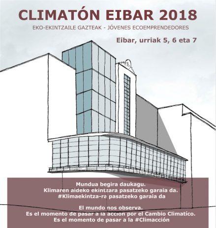 Climatón Jóvenes Ecoemprendedores 2018 - Eibar
